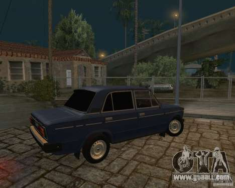 Vaz 21063 for GTA San Andreas back left view