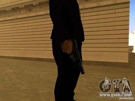 USP45 Tactical for GTA San Andreas second screenshot