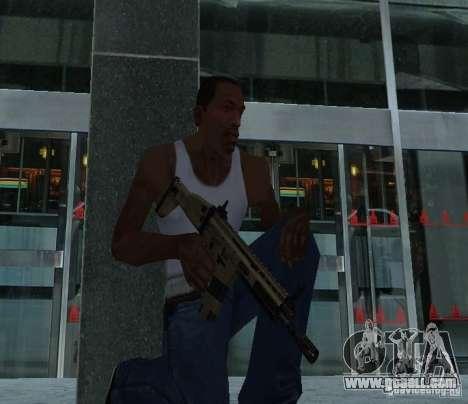 FN Scar L for GTA San Andreas second screenshot