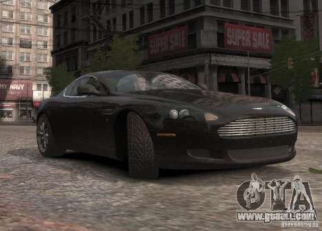 Aston Martin DB9 2008 v 1.0 for GTA 4 upper view