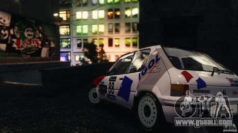 Peugeot 205 Rally for GTA 4 left view