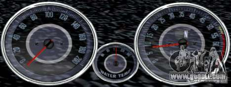 Script Chevrolet Camaro Spedometr for GTA San Andreas