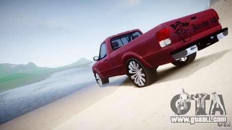 Ford Ranger for GTA 4 engine
