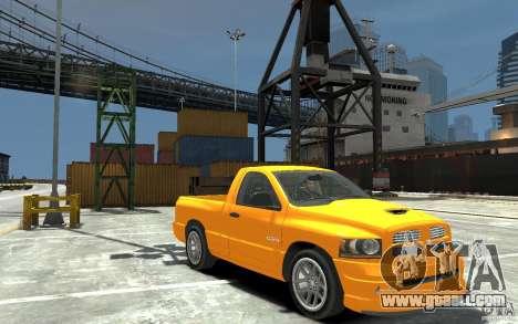 Dodge Ram SRT-10 v.1.0 for GTA 4 back view