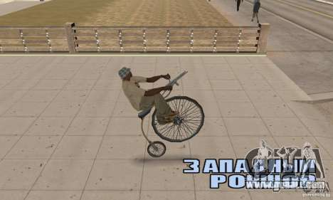 Penny-Farthing Ordinary Bicycle for GTA San Andreas right view