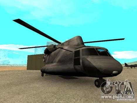 New Cargobob for GTA San Andreas
