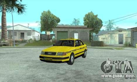 Audi 100 C4 (Taxi) for GTA San Andreas