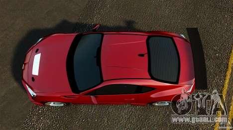 Subaru BRZ 2013 for GTA 4 right view