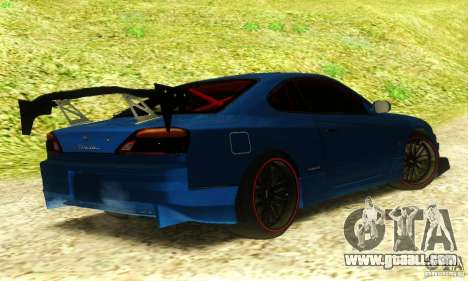 Nissan Silvia S15 Tuned for GTA San Andreas left view