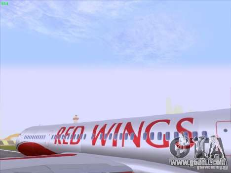 Tupolev Tu-204 Red Wings Airlines for GTA San Andreas inner view