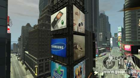 Real Time Square mod for GTA 4 third screenshot