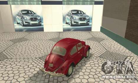 Volkswagen Beetle 1963 for GTA San Andreas