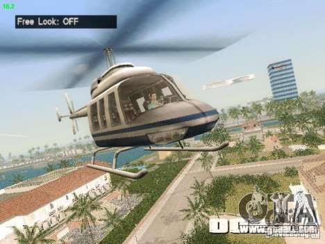 Camera Hack 2.9 for GTA Vice City