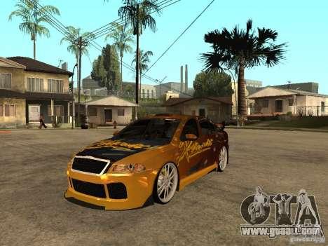 Skoda Octavia II Tuning for GTA San Andreas