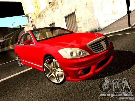Mercedes-Benz S65 AMG 2007 for GTA San Andreas right view