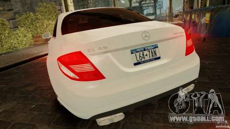 Mercedes-Benz CL65 AMG Stock for GTA 4 inner view