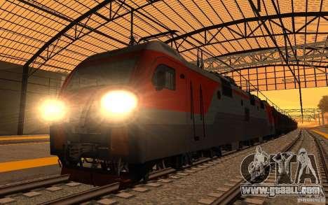 RAILWAY mod II for GTA San Andreas seventh screenshot