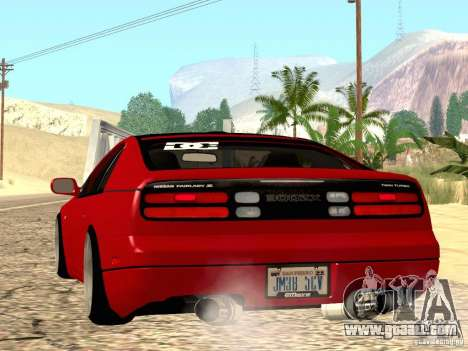 Nissan 300ZX JDM for GTA San Andreas left view