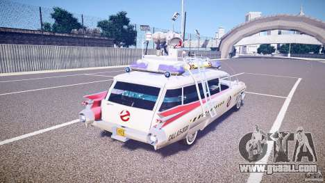 Ecto-1 (ghost hunters) Final for GTA 4 upper view
