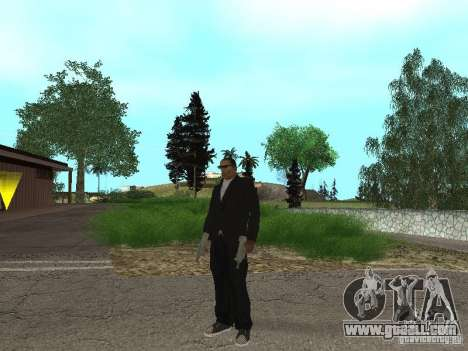 CJ Mafia Skin for GTA San Andreas third screenshot