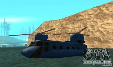 CH-47 Chinook ver 1.2 for GTA San Andreas upper view