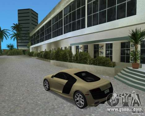 Audi R8 5.2 Fsi for GTA Vice City left view