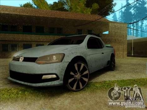 Volkswagen Saveiro 2014 for GTA San Andreas