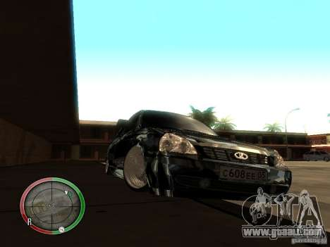 Lada Priora Dag Style for GTA San Andreas left view