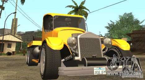 Ford Model-T Truck 1927 for GTA San Andreas back view