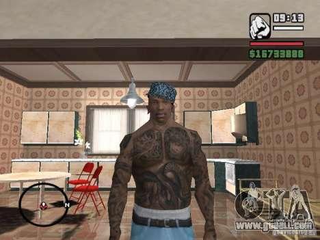 Ami James & Chris Nunez Tattoo for GTA San Andreas