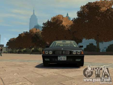 BMW 750i (E38) 1998 for GTA 4 left view