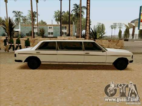 Admiral Limo for GTA San Andreas left view