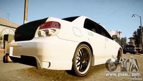 Subaru Impreza 2005 for GTA 4 left view