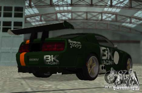 Ford Mustang GT-R for GTA San Andreas side view