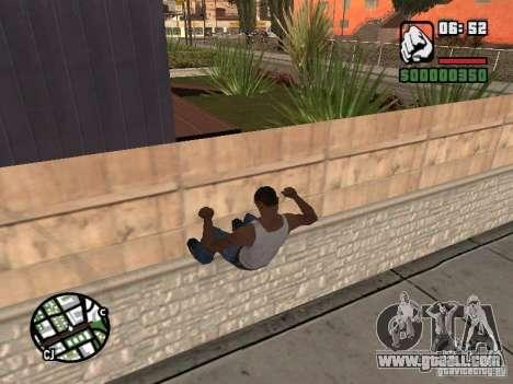 PARKoUR for GTA San Andreas fifth screenshot