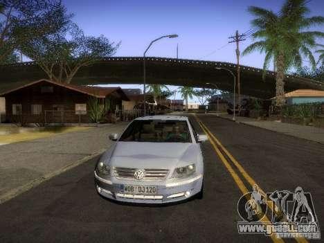 Volkswagen Phaeton W12 for GTA San Andreas back left view