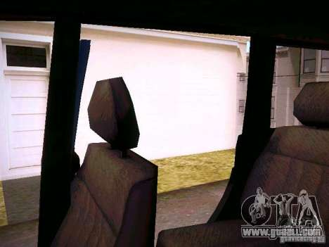 UAZ 3160 Patriot for GTA San Andreas bottom view