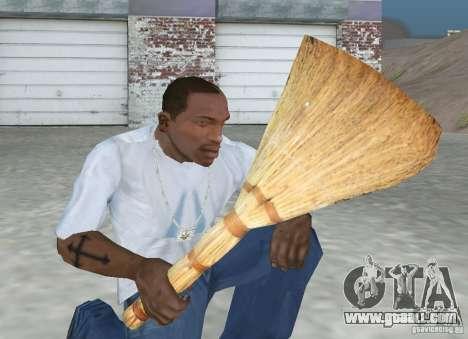 Broom for GTA San Andreas