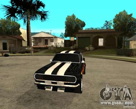 GAZ 2410 Camaro Edition for GTA San Andreas back view
