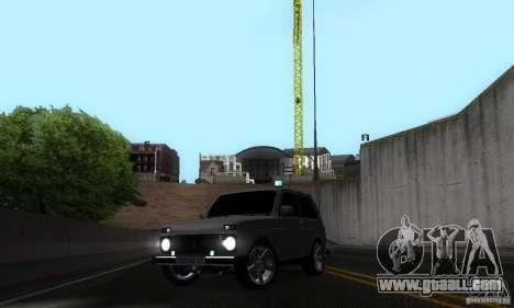 VAZ 21213 NIVA FBI for GTA San Andreas side view