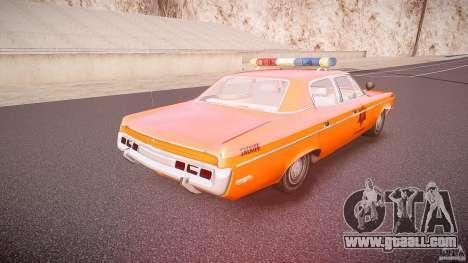 AMC Matador Hazzard County Sheriff [ELS] for GTA 4 upper view