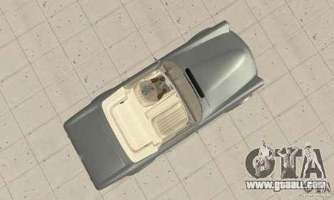 Mercedes-Benz 280SL (Matt) for GTA San Andreas right view
