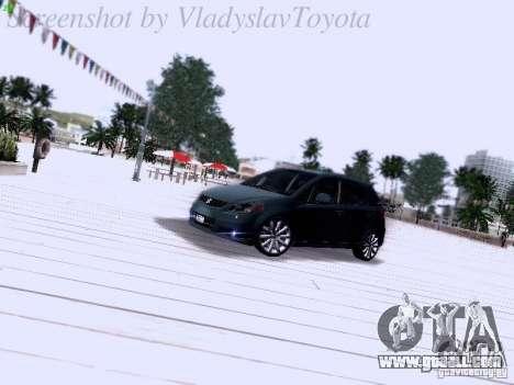 Suzuki SX4 Sportback 2011 for GTA San Andreas left view