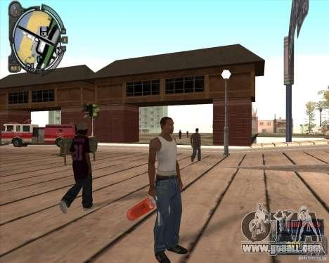 S.T.A.L.K.E.R. Call of Pripyat HUD for SA v1.0 for GTA San Andreas fifth screenshot
