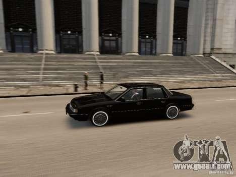Oldsmobile Cutlass Ciera 1993 for GTA 4 inner view