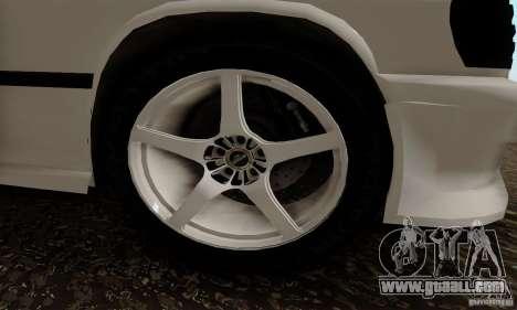 Mercedes-Benz 190E for GTA San Andreas right view