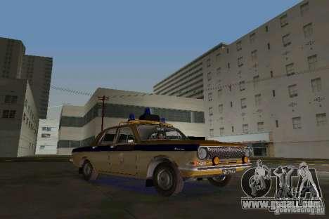 Gaz-24 Militia for GTA Vice City left view