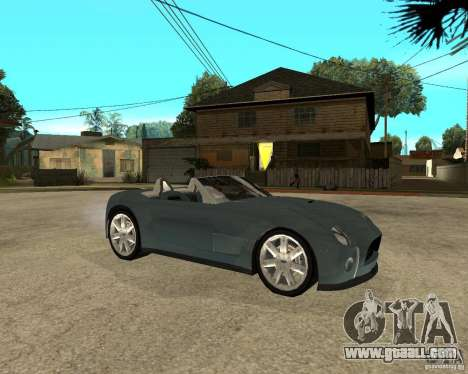 Ford Cobra Concept for GTA San Andreas right view