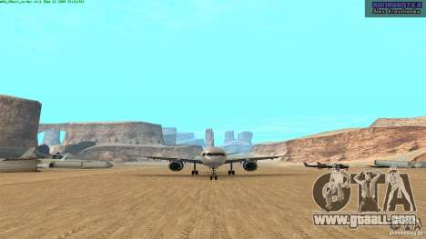 Boeing 757-200 Final Version for GTA San Andreas left view