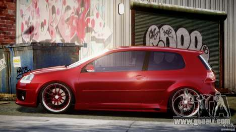 Volkswagen Golf GTI 2006 v1.0 for GTA 4 left view